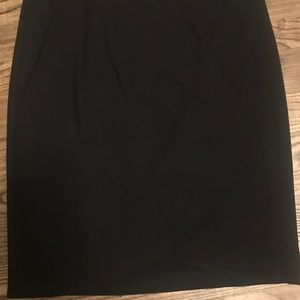 Black Pencil Skirt in a size L